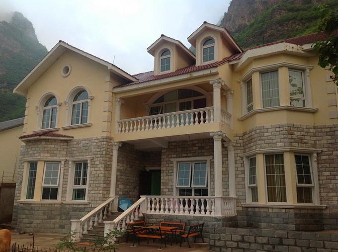 乡村一层平房设计图 农村两层房子设计图 乡村二层设计