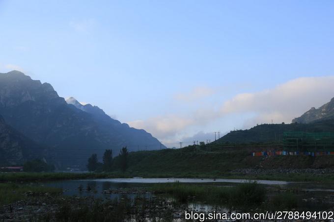 流经十渡风景区,张坊镇